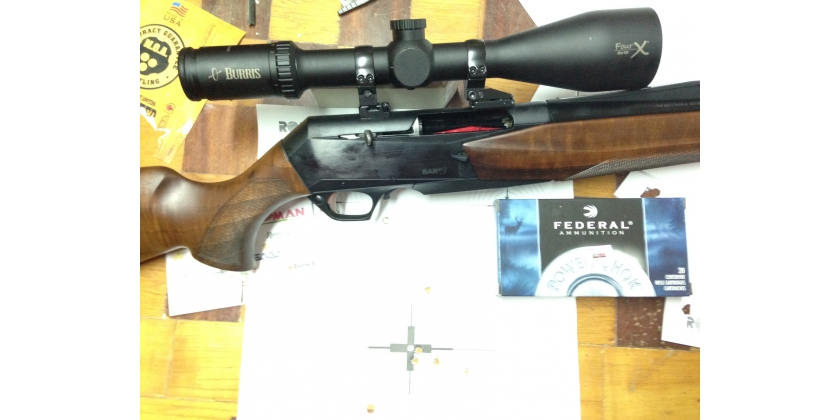 RIFLE FN BROWING MK3 DEL 300 WMG APEL BURRIS FOUR X Y FEDERAL