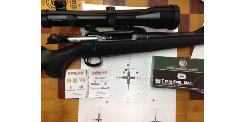 RIFLE SAVER 101 EN 7 RMG CON APEL ZEISS Y RWS KS A 150 MTS