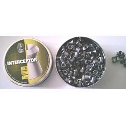 BALINES BSA INTERCEPTOR CAL. 5,5MM (250 UD) perdigones