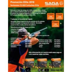 PROMOCION CARTUCHOS TIRO SAGA 24 Y 28 GR.,