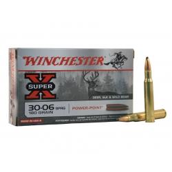 Balas Winchester Super X - 30.06 - 180 grs - Powerpoint
